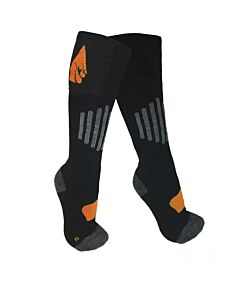 Action Heat AA Battery Heated Wool Sock- Black