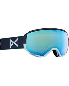 Anon WM1 Goggle- Navy Perceive w/ Variable Blue + Cloudy Pink
