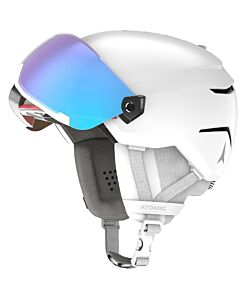 Atomic Savor Visor Stereo Helmet- White