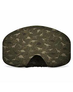 Black Strap Goggle Cover- Jurassic
