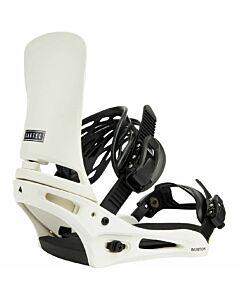 Burton Cartel Snowboarding Binding Men's- Stout White