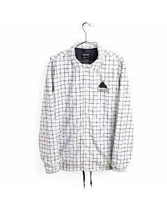 Burton Coaches Jacket Men's- Stout White Performance Print