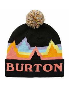 Burton Echo Lake Beanie Youth- True Black Rainbow