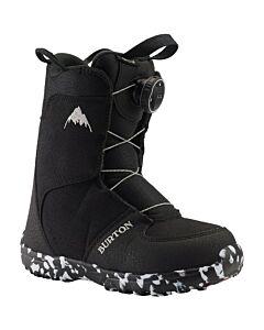 Burton Grom Boa Boot Kids- Black