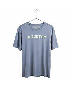 Burton Horizontal MTN S/S Tee Men's- Folkstone Gray