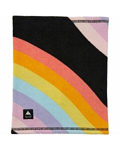 Burton Neckwarmer Youth- True Black Rainbow