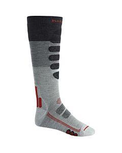 Burton Performance Plus Lightweight Sock Men's- Gray Heather Block