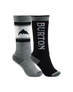 Burton Weekend 2 Pack Sock Boys- True Black