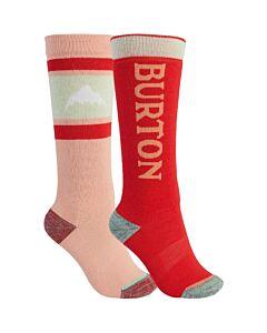 Burton Weekend 2 Pack Sock Kid's- Dahlia/ Hibiscus