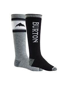Burton Weekender 2 Pack Sock Men's-  True Black