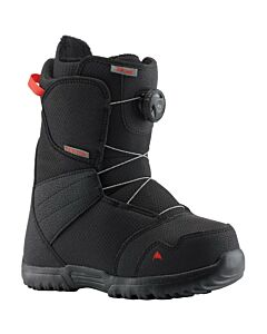 Burton Zipline Boa Boot Kid's- Black