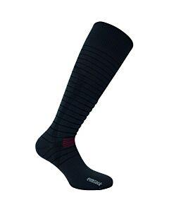 Eurosock Silver Ski Light Sock- Charcoal/ Black