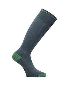 Eurosock Snowbase Lightweight Sock - Grey/ Green