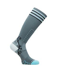 Eurosock Sweet Silver Sock Women's- Grey/ Jade