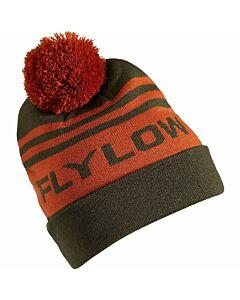 Flylow OG Pom Beanie- Kombu/ Oxide