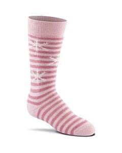 Fox River Snow Day 2 Pack Socks Kid's- Bubblegum
