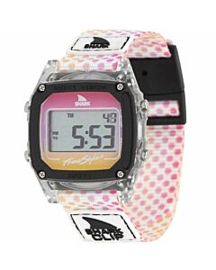 Freestyle Shark Classic Clip Watch- Clear/ Candy Dots