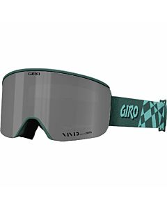 Giro Ella Goggle- Grey Green Coverup  w/ Vivid Onyx + Vivid Infared
