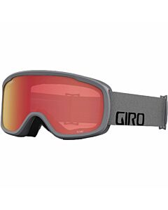 Giro Roam Goggle- Grey Wordmark w/ Amber + Yellow