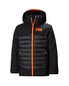 Helly Hansen Summit Jacket Boys- Black