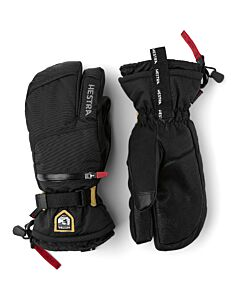 Hestra All Mountain CZone 3 Finger Glove- Black