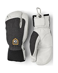 Hestra Army Leather Patrol 3 Finger Glove- Charcoal
