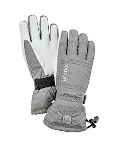 Hestra C-Zone Powder Glove Women's- Light Grey