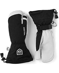Hestra Heli 3-Finger Glove Men's- Black