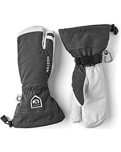 Hestra Heli 3-Finger Glove Men's- Grey