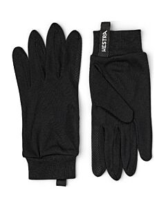 Hestra Silk Liner Touch Point- Black