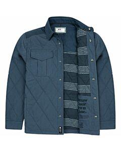 Jetty Dogwood Jacket Men's- Indigo