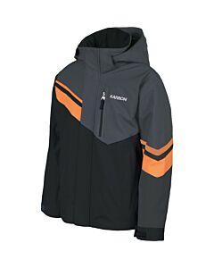 Karbon Inertia Jacket Boy's- Black/ Charcoal/ Tangelo