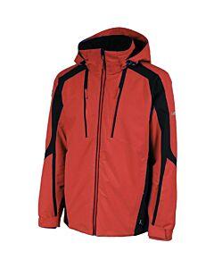 Karbon Kinetic Jacket Men's- Red/ Black/ Red