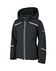 Karbon Magik Jacket w/ Fur Girl's- Black