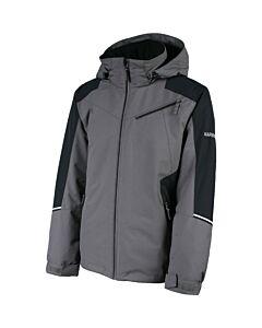 Karbon Matter Jacket Men's- Crater Grey/ Black