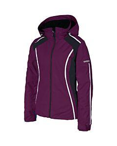 Karbon Reflect Jacket Women's- Mullberry/ Black