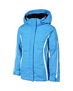 Karbon Storm Jacket Girl's- Crystal Blue