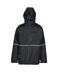 L1 Ventura Jacket Men's- Black/ Soft Lime