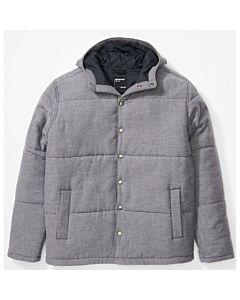 Marmot Lanigan Insulated Flannel Jacket Men's- Dark Steel Heather