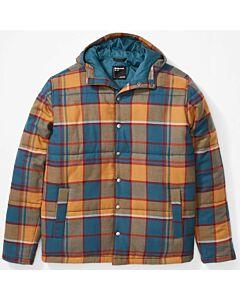 Marmot Lanigan Insulated Flannel Jacket Men's- Stargazer