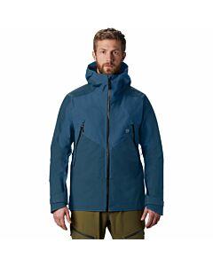 Mountain Hardware Boyundary Ridge Gore Jacket Men's- Blue Horizon