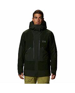 Mountain Hardware Cloud Bank Insulated Gore Jacket Men's- Black Sage