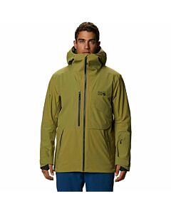 Mountain Hardware Cloud Bank Insulated Gore Jacket Men's- Fatigure Green