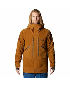 Mountain Hardware Cloud Bank Insulated Gore Jacket Men's- Golden Brown