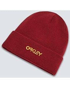 Oakley B1B Logo Beanie- Iron Red