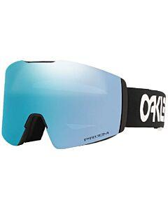 Oakley Fall Line L Factory Pilot Goggles- Black w/ Prizm Sapphire
