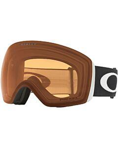 Oakley Flight Deck Goggle- Matte Black w/ Prizm Persimmon