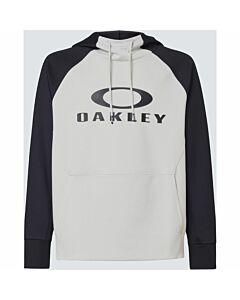 Oakley Sierra DWR Fleece Hoodie Men's- Blackout/ Cool Gray