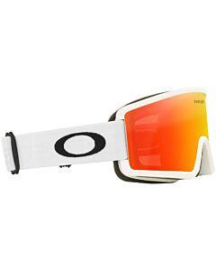 Oakley Target Line M Goggles- Matte White w/ Fire Iridum