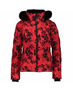 Obermeyer Bombshell Jacket Women's- Hibiscus Tinctu